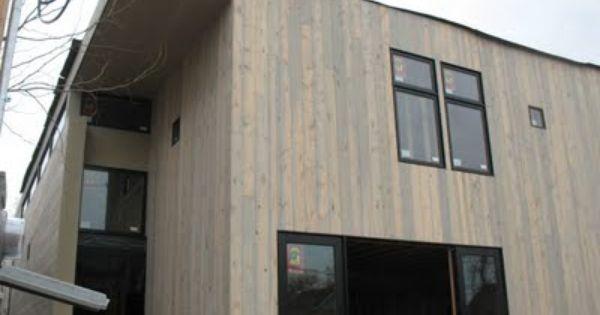 Beetle Kill Pine Shown On Denver Modern Home In Washington Park