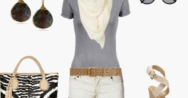 I know I always pin scarf outfits, but this time I'm pinning
