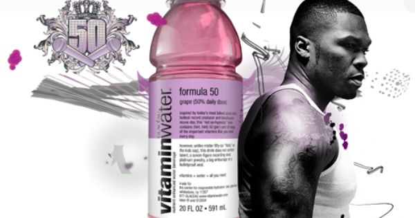 50 Cent For Vitamin Water Booze Feeding Kids 50 Cent