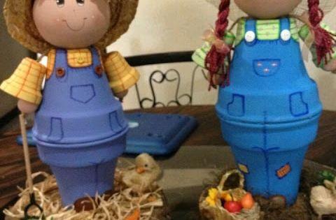 M s y m s manualidades 16 ideas para decorar macetas de for Manualidades de jardineria