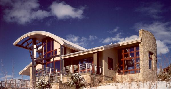Baker residence park city ut by charles cunniffe for Utah home design architects