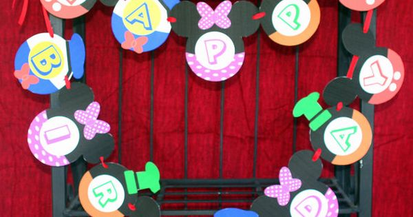 MICKEY MOUSE Clubhouse Decorations-Mickey Mouse Birthday Party PDF