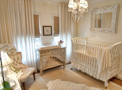 baby nurseries - girls nursery idea.