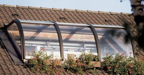 Rondogard Dachloggiaverglasung Dach Garten Ideen
