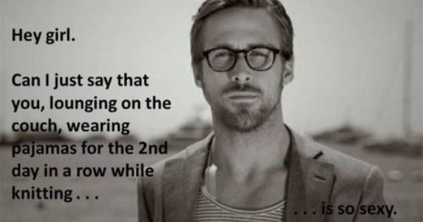 Ryan Gosling - those glasses too