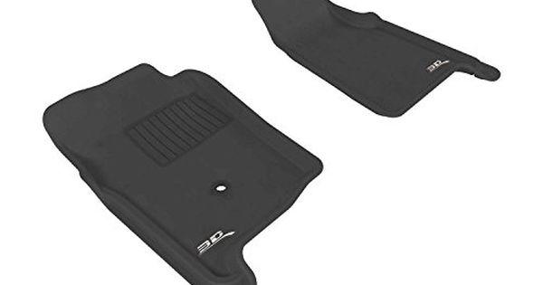 3d Maxpider Front Row Custom Fit Allweather Floor Mat For Select Ford Ranger Models Kagu Rubber Black Auto88 Read Mor Ford Ranger Regular Cab Black Carpet
