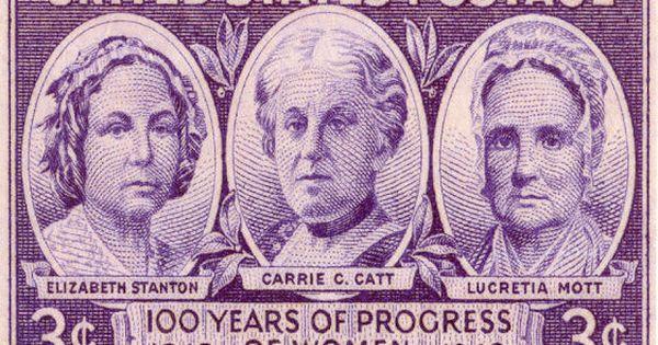 Elizabeth Cady Stanton Carrie Catt Lucretia Mott Vintage Postage Stamps Usa Stamps Postage Stamps