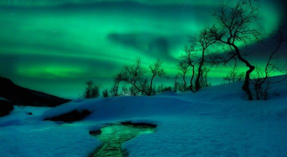 Landscape photography by Arild Heitmann. Northern Lights, Norway.