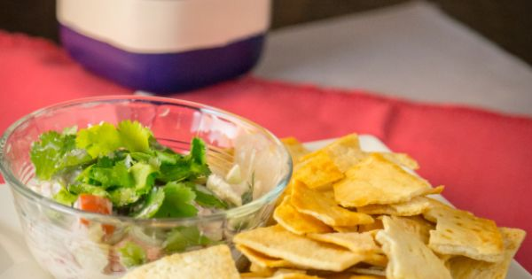 Raita Veggie Dip | www.sweetteasweetie.com | Appetizers | Pinterest ...