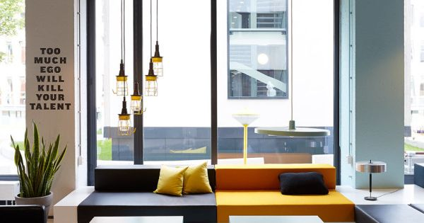 The student hotel amsterdam industrial furniture and design for Industrial design amsterdam
