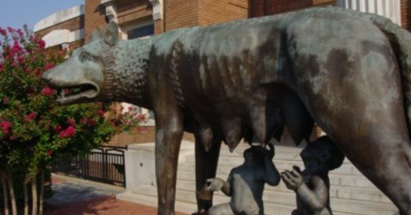 Capitoline Wolf From Rome Italy Rome Georgia Floyd County Rome