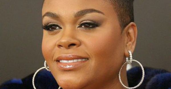 Jill Scott Hair Styles: Mohawk Updo Hairstyle With Shaved Sides