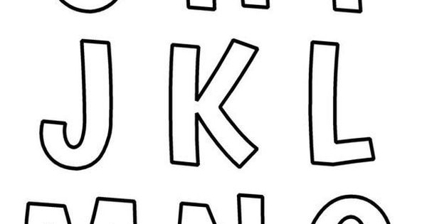 Alphabet Templates, Free Printables And Homeschool