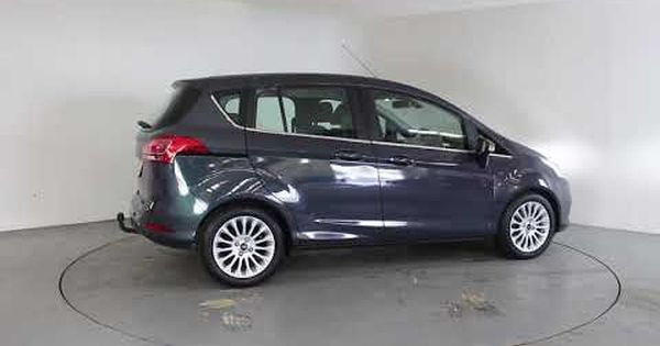 Ford B Max 1 6 Titanium Auto Air Conditioning Alloy Wheels Bluetooth Dab Radio Spare Key Parki Car Air Conditioning Alloy Wheel Used Cars