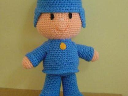 Munecas Amigurumi Askina : pocoyo juguete muneco lana bebe,vellon siliconado ...
