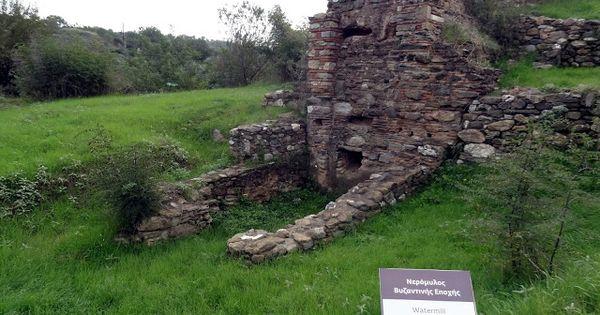 Αποτέλεσμα εικόνας για βυζαντινοί νερόμυλοι πολίχνης