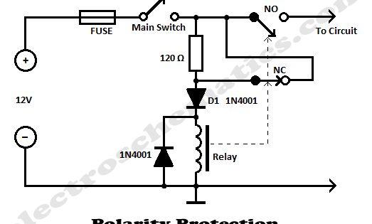 polarity protection circuit schematic