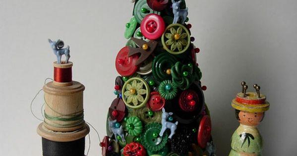 diy deko ideen weihnachten adventszeit christbaum selber basteln kn pfe bastelarbeiten ich. Black Bedroom Furniture Sets. Home Design Ideas