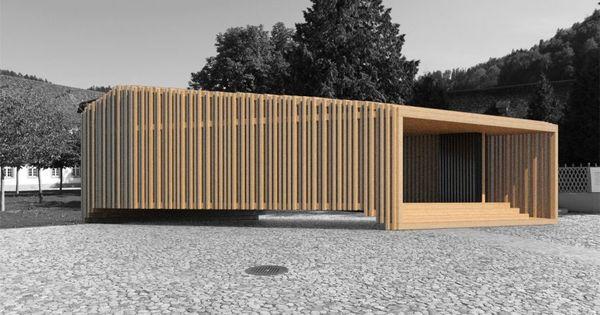 Pinterest ? Världens Idékatalog Holz Pavillon Wabenform