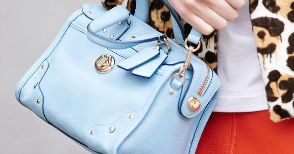 Rhyder 24 Satchel in Leather coach handbags