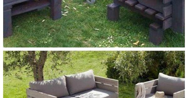 Complete Pallet Garden Set Meubles Palettes Id E Avec