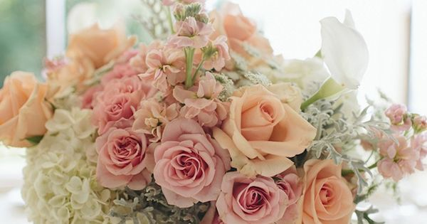 Romantic Peach and Gold Wedding | Bridal Musings Wedding Blog