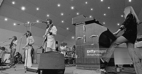 English Progressive Rock Group Yes Performing At A Crystal Palace