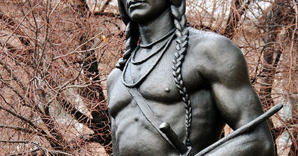 Massasoit Native American Chief Statue Byu Campus 2