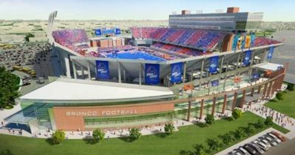 View Renderings Of Proposed Bronco Stadium Expansion Update Boise State Boise State Football Boise State Broncos Football