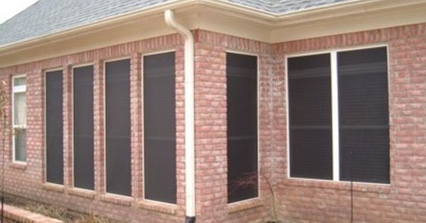 Sun Control Screen. Reduce your summer air conditioning bills with ...