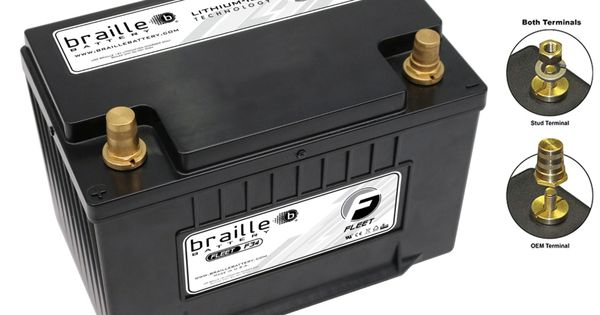 F34 Group 34 Lithium Starting Power Supply Battery Braille Battery In 2021 Power Supply Power Emergency Vehicles