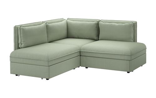 VALLENTUNA 3 seat corner sofa with bed Hillared green  : 6f8d265eff2773cad662cf65919e6855 from www.pinterest.com size 500 x 315 jpeg 10kB