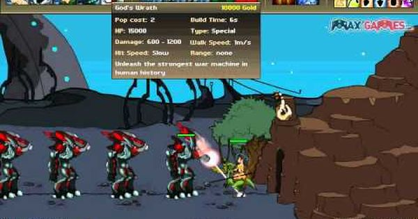 Age Of War 2 Hacked War Age Defense Games