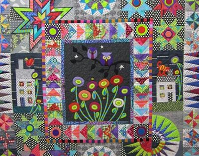 Urban Owls By Wendy Williams Quilts We Love Pinterest