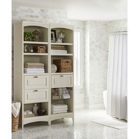 Allen And Roth Closet Tower With Drawers Wood Closets Bedroom Storage Shelves Wall Decor Bedroom