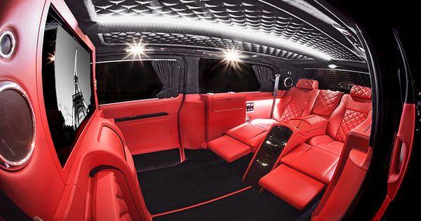 mercedes v class red interior 7 carisma auto design pinterest red interiors galleries and. Black Bedroom Furniture Sets. Home Design Ideas