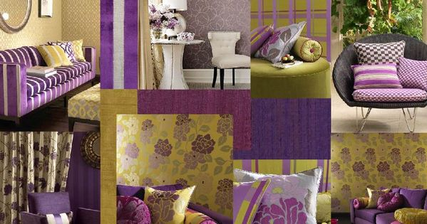 this lively color scheme of purple red purple yellow orange and yellow green used with touch. Black Bedroom Furniture Sets. Home Design Ideas