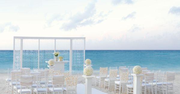 Hard rock hotel canc n decoraci n bodas ceremonia playa for Decoracion en cancun