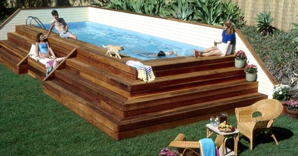 Above Ground Pool Deck Ideas - Bing Images. BECCA YOU NEED THIS