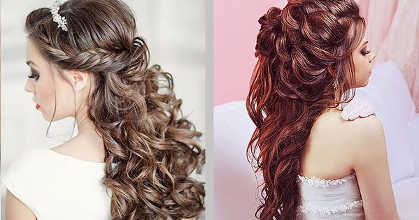 36 Half Up Half Down Wedding Hairstyles Ideas