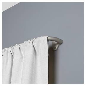 Loft By Umbra Curtain Rod Silver 28 48 Quot Target Curtain Rods