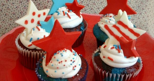 memorial day cupcakes decorations