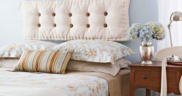 Testata letto con cuscini home staging pinterest - Cuscini testata letto ikea ...