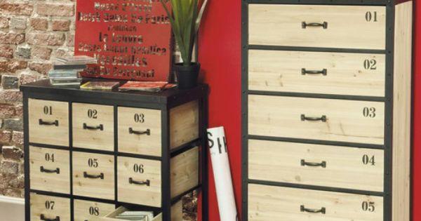 meubles cd dvd docks maisons du monde dream home pinterest bedrooms and salons. Black Bedroom Furniture Sets. Home Design Ideas