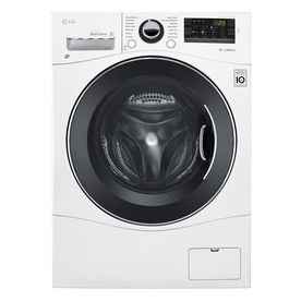 Lg 2 3 Cu Ft Ventless Combination Washer And Dryer Wm3488hw With