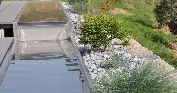 Wasserrinne garten garten pinterest g rten - Wasserrinne garten ...