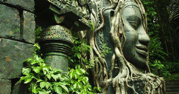 Jungle Cruise Statues | Cruises, Decoration and Angkor