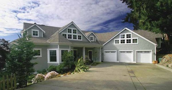Eplans Craftsman House Plan Double Master Suites One On