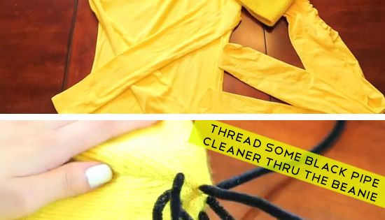 DIY Minion Costume from Dispicable Me | Click Pic for 22 Easy