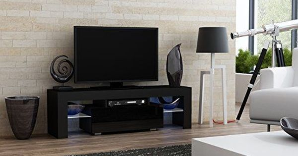 Tv Stand Milano 160 Modern Led Tv Cabinet Living Room Small Tv Stand Modern Living Room Black Modern Tv Units